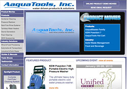 Aaquatools website