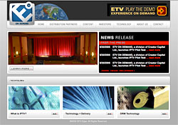 eTV website