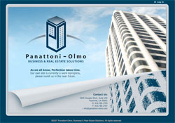 Splash page for Panattoni