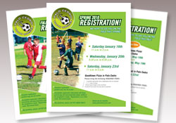 Palo Cedro Youth Soccer promotional material