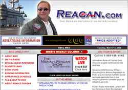 Michael Reagan website