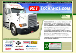 RLT Exchange website design