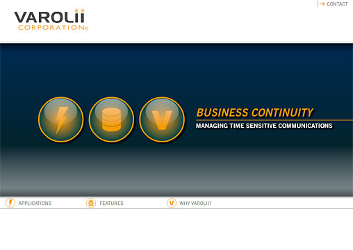 Flash presentation for Varolii- Business Continuity